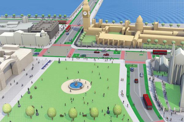 London Cycling Campaign, Go Dutch, Parliament square