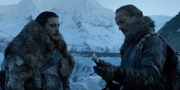 game of thrones hbo jon snow longclaw ser jorah mormont