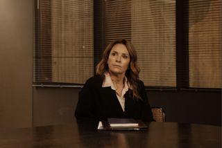 Professor T star Juliet Aubrey as 'firm but fair' DSI Christina Brand.