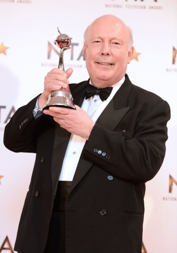 Julian Fellowes at the National Television Awards 2015