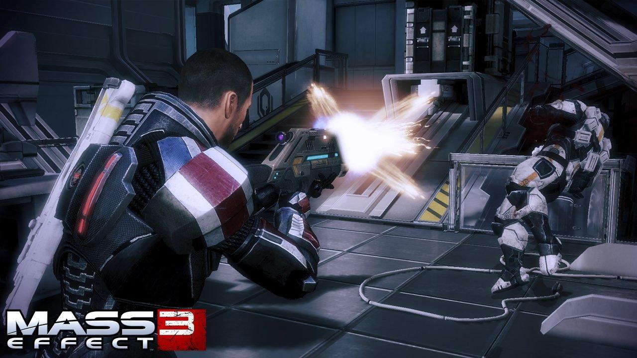 Mass Effect 3 Combat Rifle Screenshots #18867