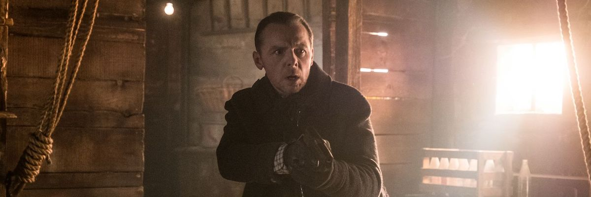 Simon Pegg in Mission: Impossible - Fallout