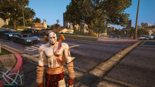 Stick some God of War in your Grand Theft Auto 5 with this