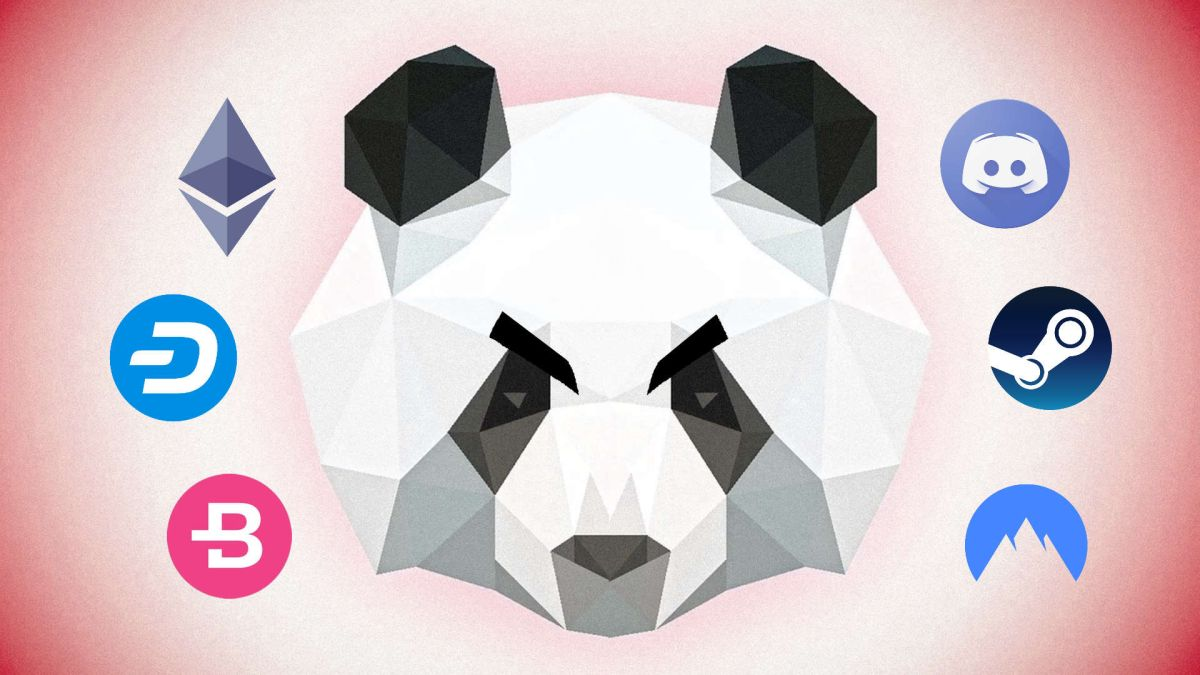 This panda hungers for your Steam and Discord logins