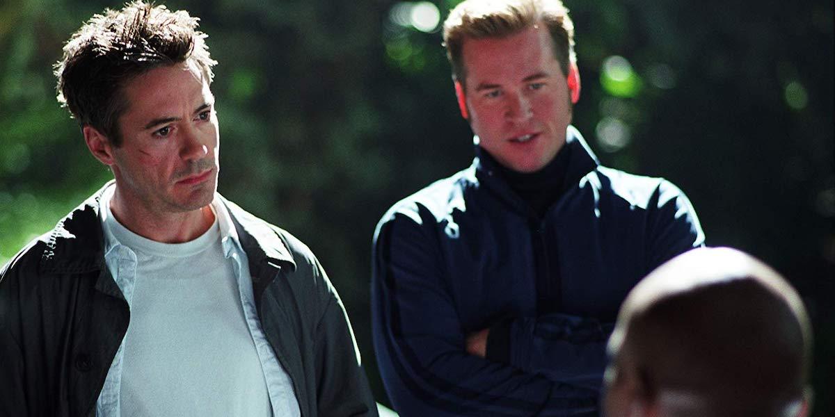 Robert Downey Jr and Val Kilmer in Kiss Kiss Bang Bang