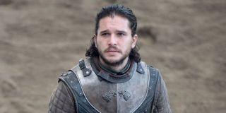 Jon Snow at Dragon Stone in Season 7