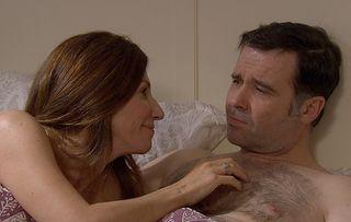 Graham lulls Megan into a false sense of security in Emmerdale