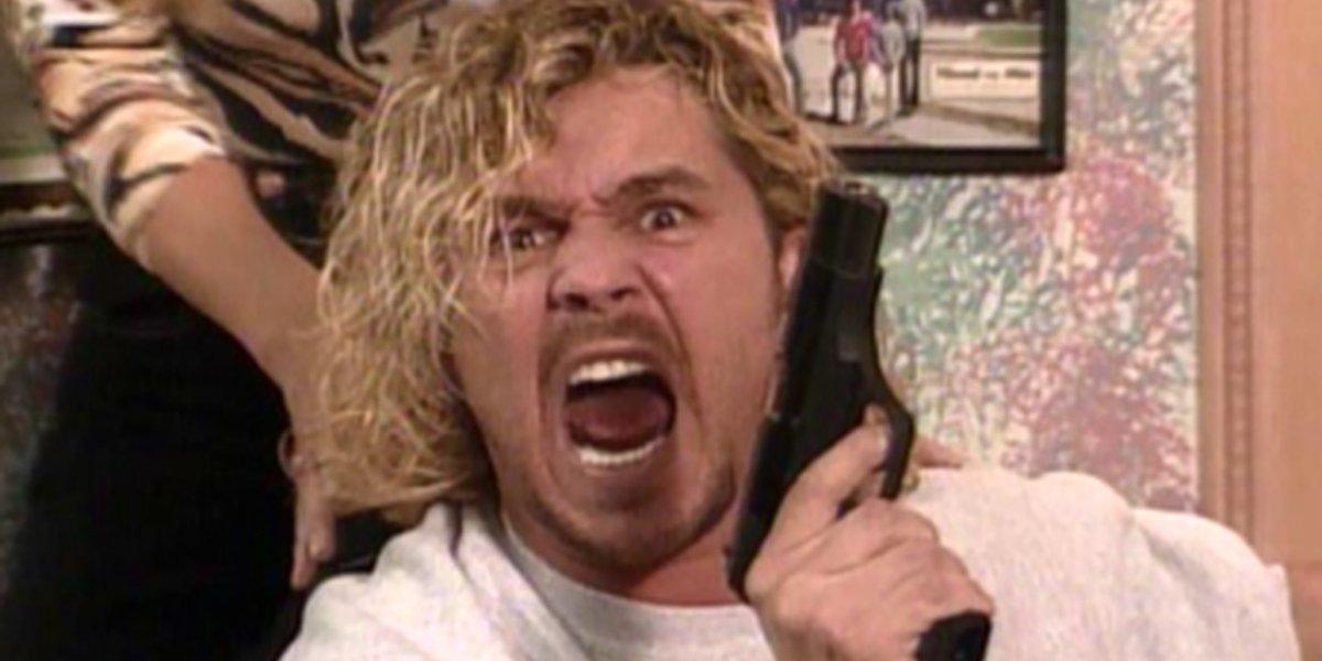 Brian Pillman on Monday Night Raw