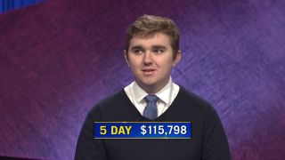 Brayden Smith on Jeopardy!