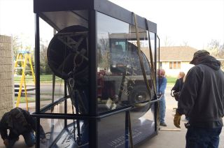 Liberty Bell 7 Leaves Kansas