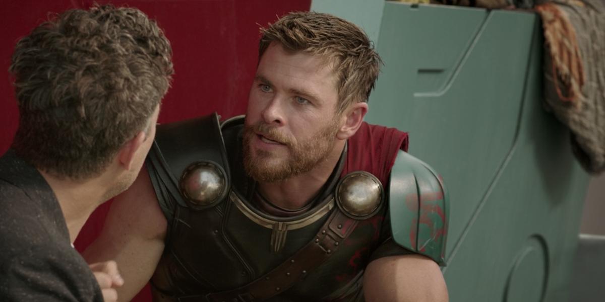 Chris Hemworth in Thor: Ragnarok