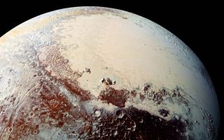 Pluto, As Seen by New Horizons