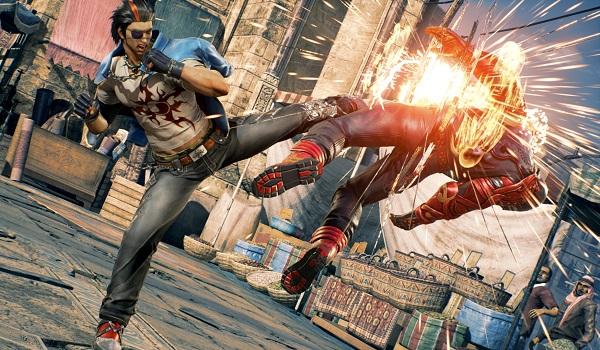 Two brawlers duke it out in Tekken 7