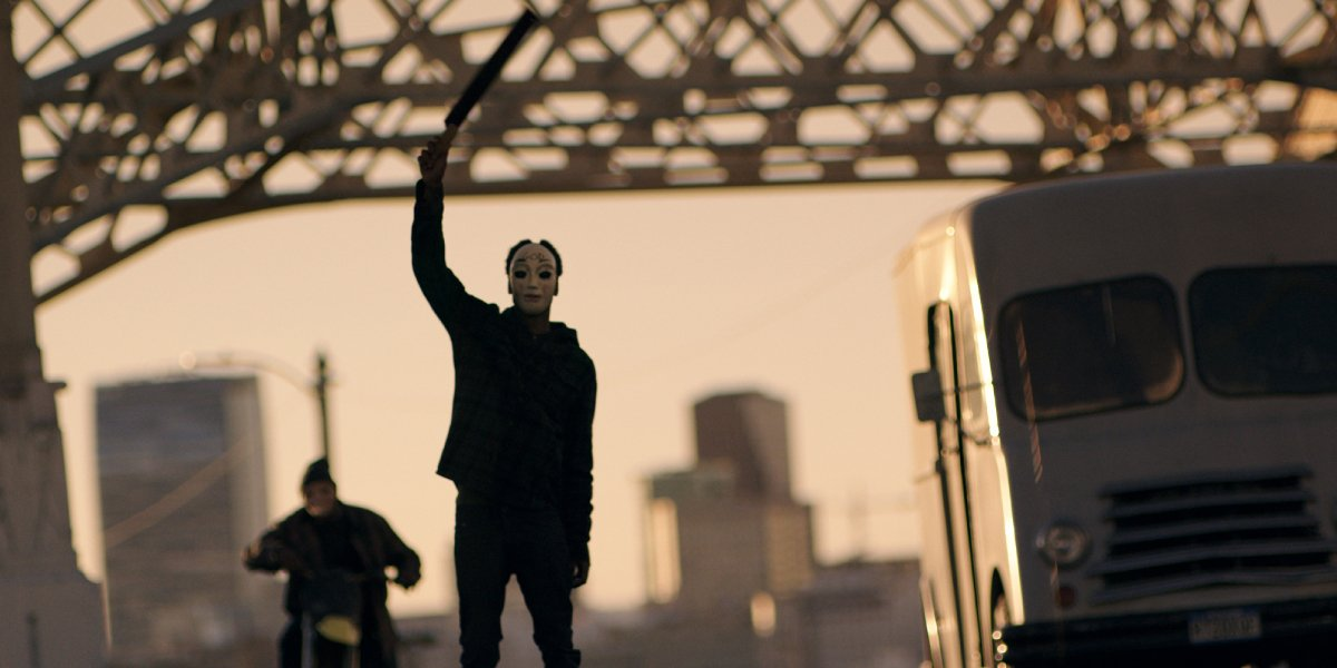 Lakeith Stanfield in The Purge: Anarchy