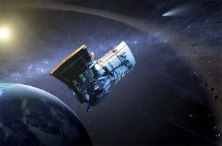Wide-Field Infrared Survey Explorer Spacecraft