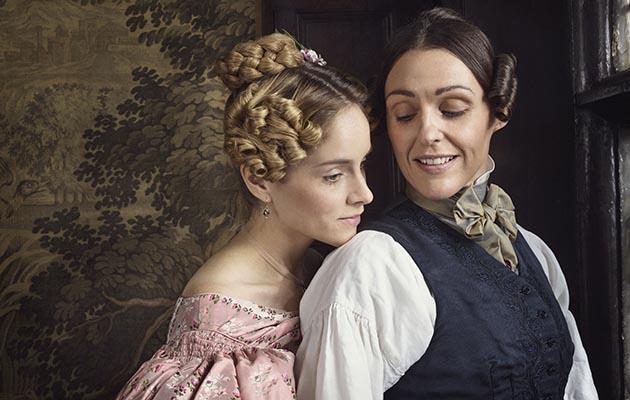 Sophie Rundle and Suranne Jones in Gentleman Jack
