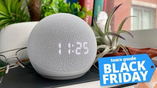 Amazon Black Friday deal - Echo Dot with Clock at lowest price ever