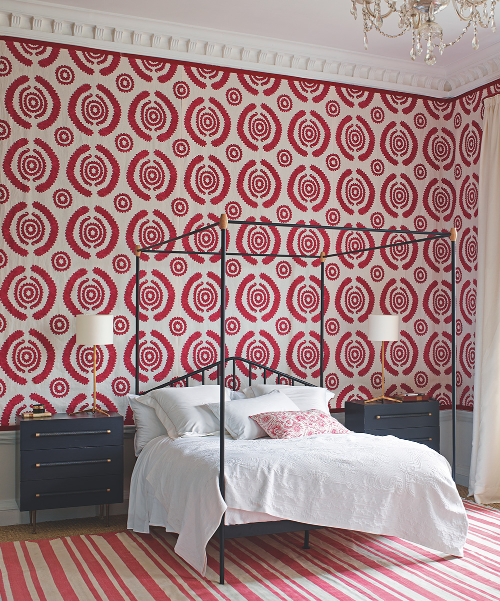 Bedroom Wallpaper Ideas Statement Wallpaper For Bedrooms