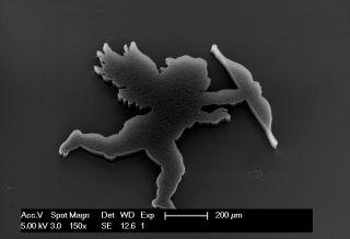 Cupid made of nanotubules