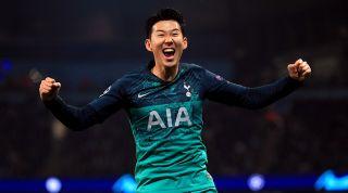 Son Heung-min Manchester City