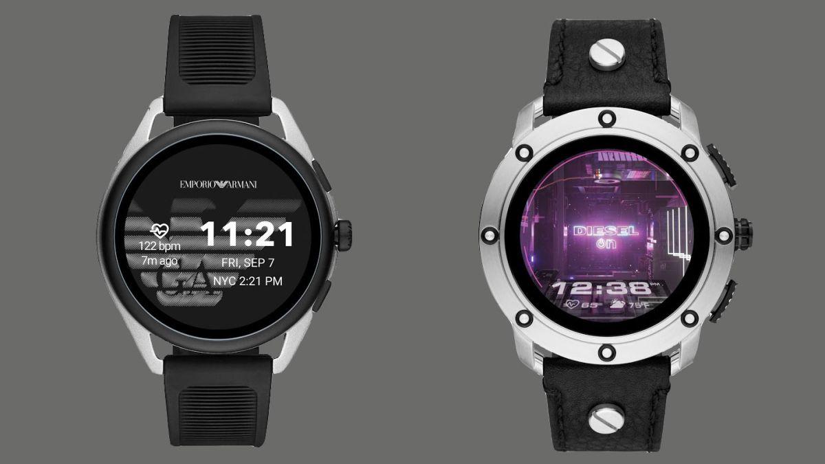 Emporio Armani and Diesel launch new designer smartwatches