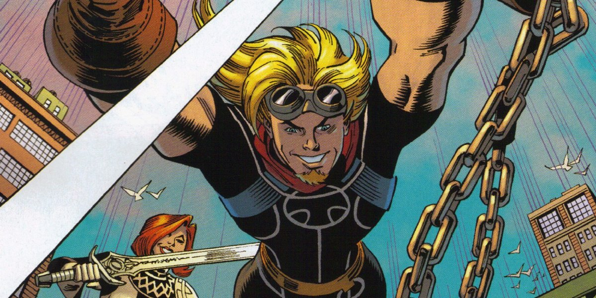 Kevin Masterson is Thunderstrike