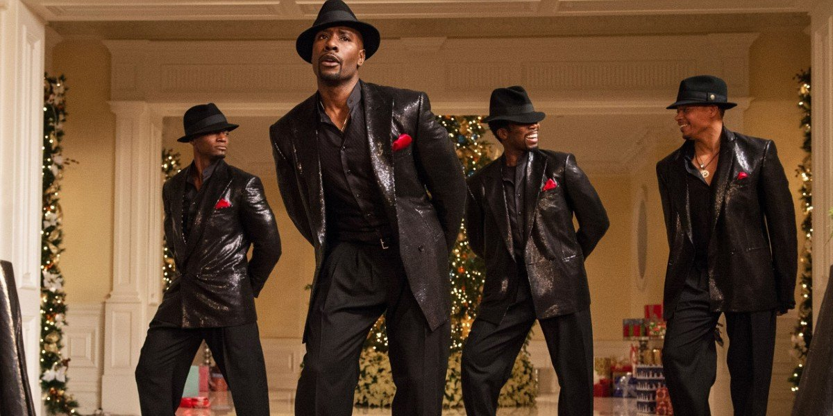 Morris Chestnut, Taye Diggs,Terrence Howard, and Harold Perrineau in The Best Man Holiday