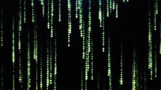 The Matrix code.