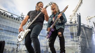 Metallica's Robert Trujillo and Kirk Hammett