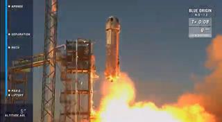 Blue Origin's New Shepard vehicle made its 13th flight on Oct. 13, 2020.