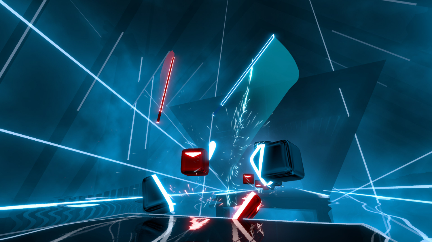 Beat Saber Is the Perfect Launch Game for Oculus Quest