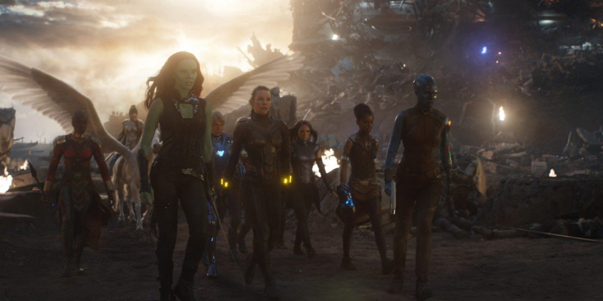 Avengers: Endgame Women Of Marvel Sequence