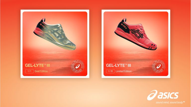 ASICS SUNRISE RED NFT COLLECTION