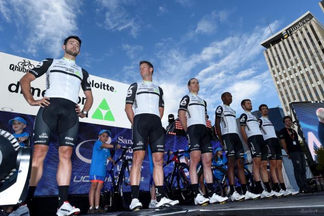 Dimension Data at the 2016 Tour Down Under