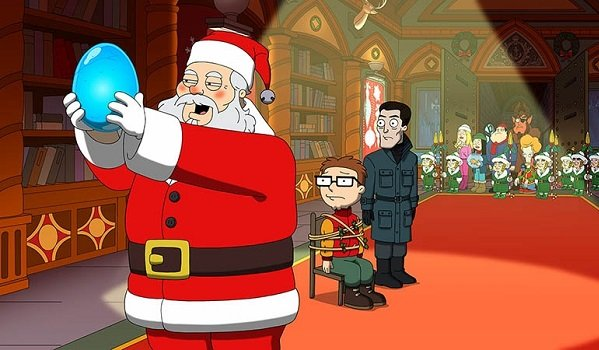 Santa Steve American Dad Fox