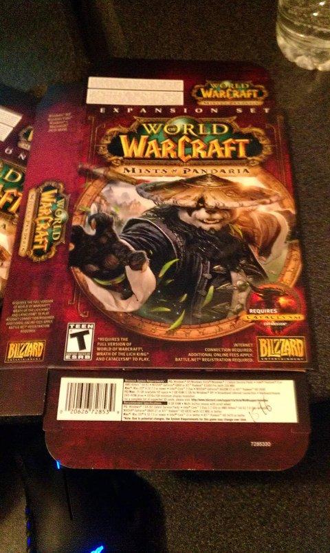 Warcraft 1 Box