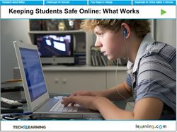 Keeping Students Safe Online: What Works