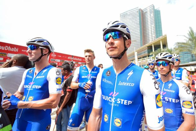 Quick step floors team boss unsure of squad 39 s future for Quick step floors cycling team