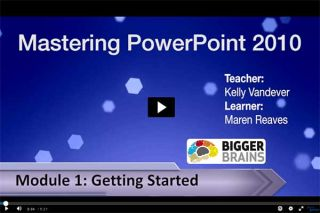 Video Tutorial: Mastering PowerPoint 2010