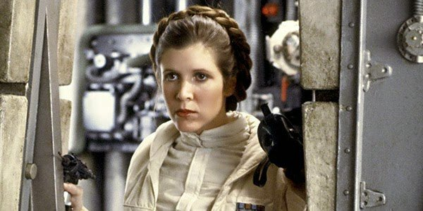 Image result for Carrie Fisher in star wars
