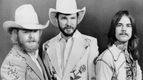 A shot of ZZ top in the 70s