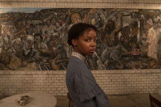The Underground Railroad star Thuso Mbedu as Cora Randall.