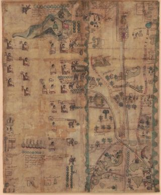 A 1593 map called the Codex Quetzalecatzin.