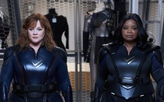 Melissa McCarthy and Octavia Spencer in Thunderforce.