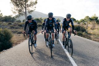 Romain Bardet Team DSM training camp 2021