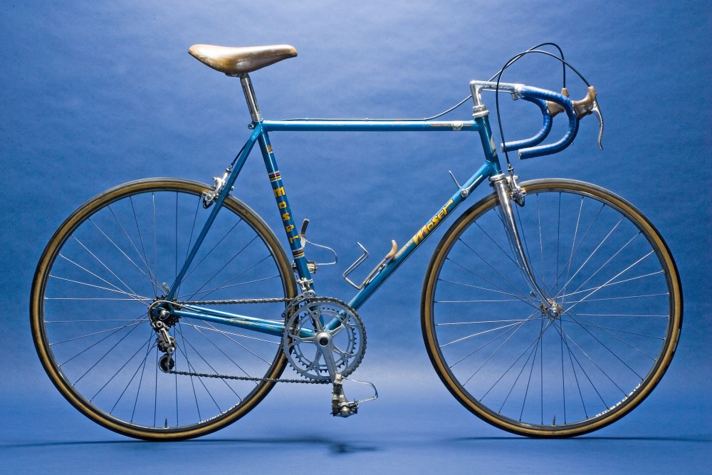 francesco moser 1979 paris-roubaix de rosa bike