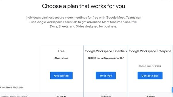 Google Meet review