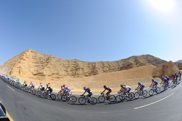 Scenery, Tour of Oman 2011, stage two