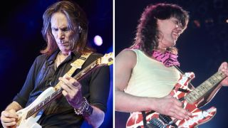 Steve Vai and Eddie Van Halen