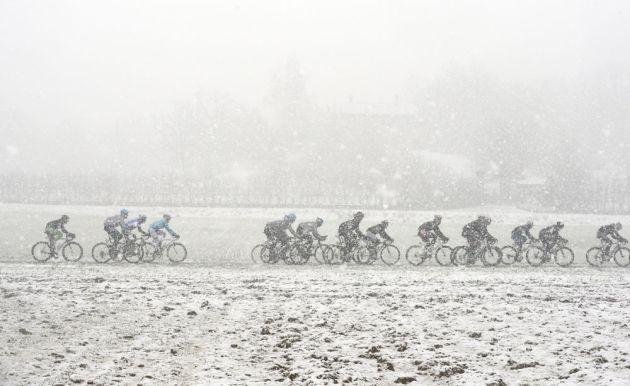 Snow, Milan-San Remo 2013
